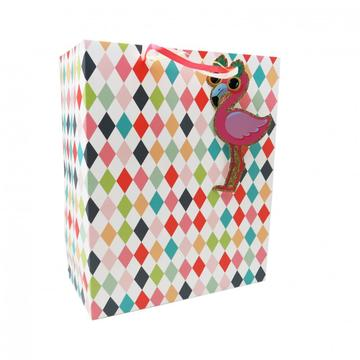 FLAMINGO PAPER GIFTBAG -0