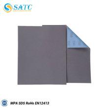 carboneto de silício papel de lixamento abrasivo à prova d'água