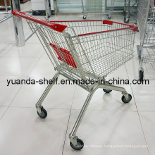 Finished with Chrome Shopping Trolley