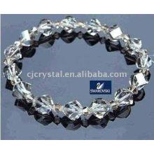 Pulsera cristalina del shambala de la manera, granos cristalinos