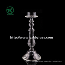 Clear Glass Candle Holder for Wedding Decoration (h: 25cm)