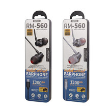 Remax Join Us   Original New RM-560 metallic 10mm speaker Type-C earphones with mic&volume control
