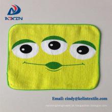 Toalha de mão dos miúdos dos desenhos animados toalha de secagem rápida