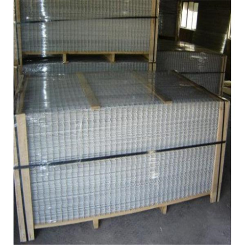 Welded wire mesh sheet pallet package