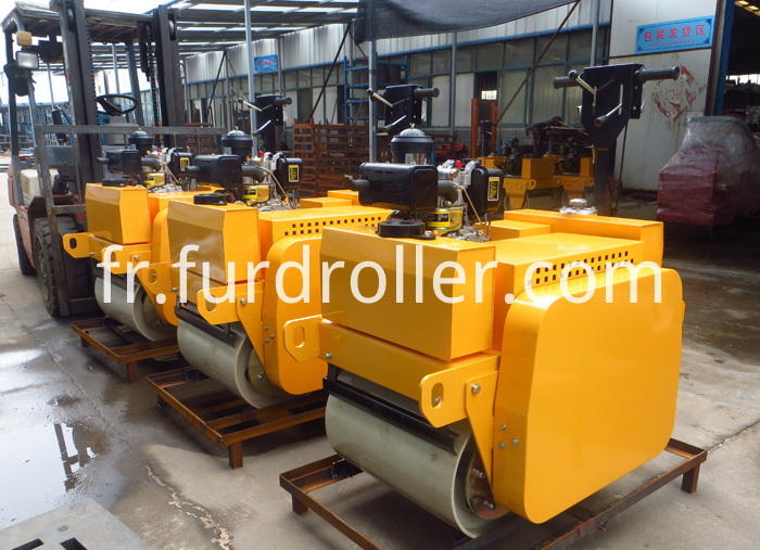 550kg hand operated road roller