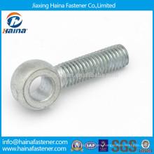 DIN444 carbon steel Hot Dip Galvanised eye screw