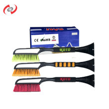 2-In-1 54 CM Long Handle Soft Handle Snow Brush With A Ice Scraper Mobile Car Wash Snow Remover