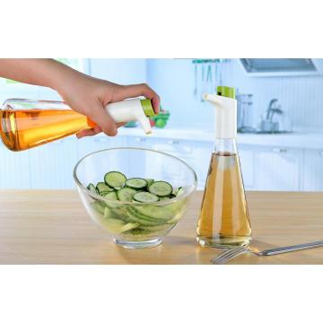 Дозатор / распылитель для измерения масла и уксуса в стеклянной бутылке 310 мл