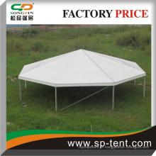 15 m Demi-partie de polygone robuste / tente de pagode à huit faces utilisée pour la réception de mariage