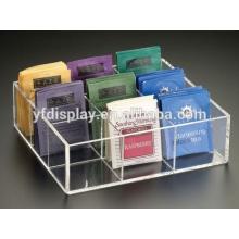 Hoher, transparenter, transparenter Tex Bag Box Inhaber