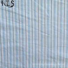 Poplin de algodão tecida de fios tingidos tecidos para camisas/vestido Rlsc50-3
