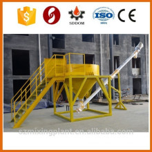 small cement silo with bag breaker on