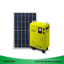 E gerador solar portátil pequeno 220V dos sistemas de energia mini para a casa