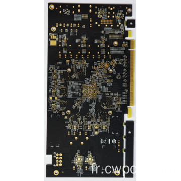PCB complexe multi-couches doigts d'or