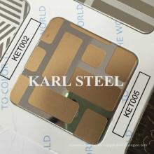 Hoja grabada Ket005 del acero inoxidable de la alta calidad 430