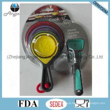 Conjunto de colher de medição de utensílios de cozinha de silicone de férias Sk18
