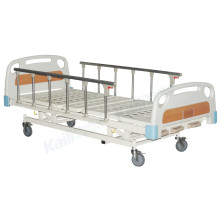 Hospital Manual Bed Three Funtcions ICU Bed Medical