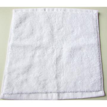 Square White Hotel Cotton Handkerchief/Towel