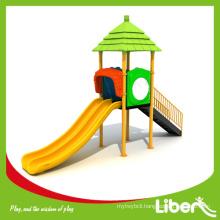 EN1176-Certified Double Slides Small Size Kids Outdoor Play Set for Kindergarten