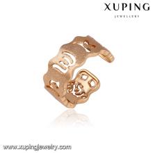 14292 venta al por mayor simplemente diseño de joyería de las señoras anillo de dedo de apertura de estilo árabe