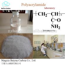 PAM de poliacrilamida de catiões para tratamento de água PAM de poliacrilamida em pó de melhor preço