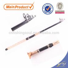 TSR062 vidro vara de pesca espaços em branco preço vara de pesca preço de fibra de vidro telescópica tele haste de rotação