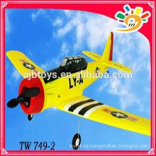 2.4G 4channel epo Schaum rc Flugzeug AT-6 TEXAN TW 749-2 Radiosteuerung rc Flugzeug rc Flugzeug Spielzeug