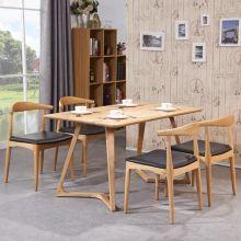 Деревянный дизайн современной мебелью столовой стол