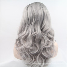 wholesale cheap fashion colorful synthetic full lace front wig