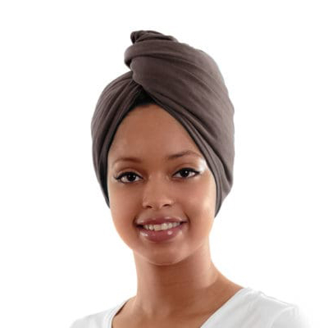 microfibre turban twist hair towel