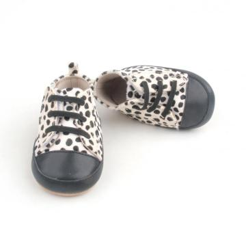 Cute Cow Spot Mo-hair Upper Infant Casual schoenen