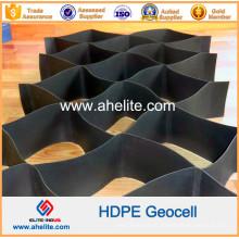 Geocélula de HDPE de plástico de estrutura de favo de mel