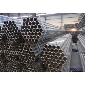 Tubos de aço pré-galvanizados redondos ERW com Q195, Q235, Q345 Grau de aço