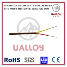 Câble de compensation de thermocouple isolé / tressé de type N PE