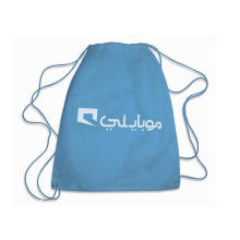 Promotional Nylon Drawstring Bag for Gifts with Printing