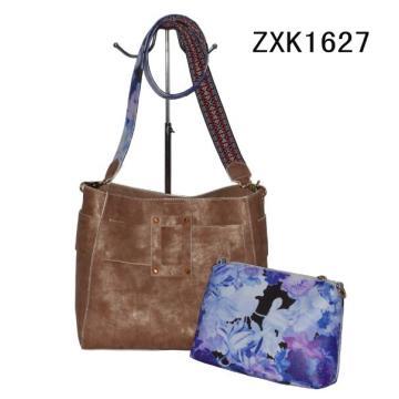 Frühling Strap Fashion Schultertasche mit Blumenbeutel (ZXK1627)