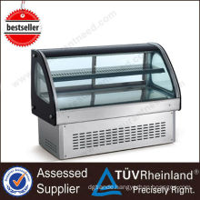 CE Refrigerator Equipment 2 Layers cake display refrigerator