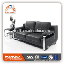 S-10 stainless steel fram leather PU office sofa furniture