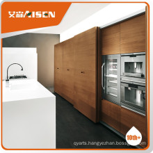 Stable performance timber veneer kitchen cabinets