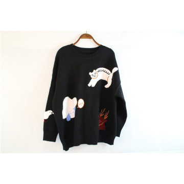 Long Sleeve Women Sweater Cashmere Sweater