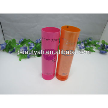 flip top cap PE cosmetic tube