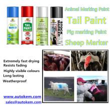 Spray de marquage d'animal, spray de spray de peinture aux animaux