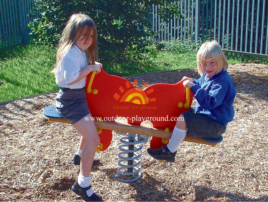 Spring Playground Equipment For Kids