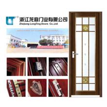Porte de salle de bains en aluminium de taille standard de 2000 * 800mm