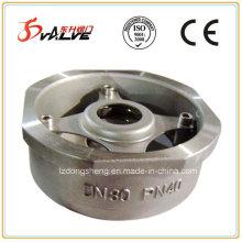 Robinet de retenue à balayage à disque unique en acier inoxydable