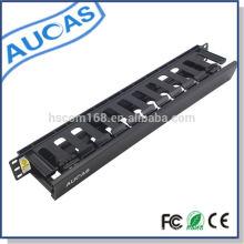 Hochwertige Wandhalterung Server Rack Standard 19inch Datenschrank 1u Kabel-Management-System in Box Verpackung besten Preis