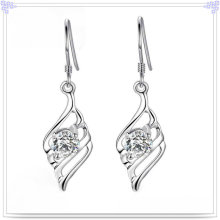Jóia de cristal jóia brinco 925 jóias de prata esterlina (se048)
