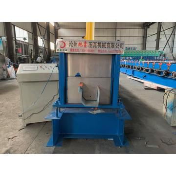 Deck Gutter Metal Roll Forming Machine