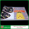 Qing Yi benutzerdefinierte Plastisol Wärmeübertragung Aufkleber für den Stoff