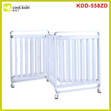 Hot sale european standard stainless steel baby cribs for cheap